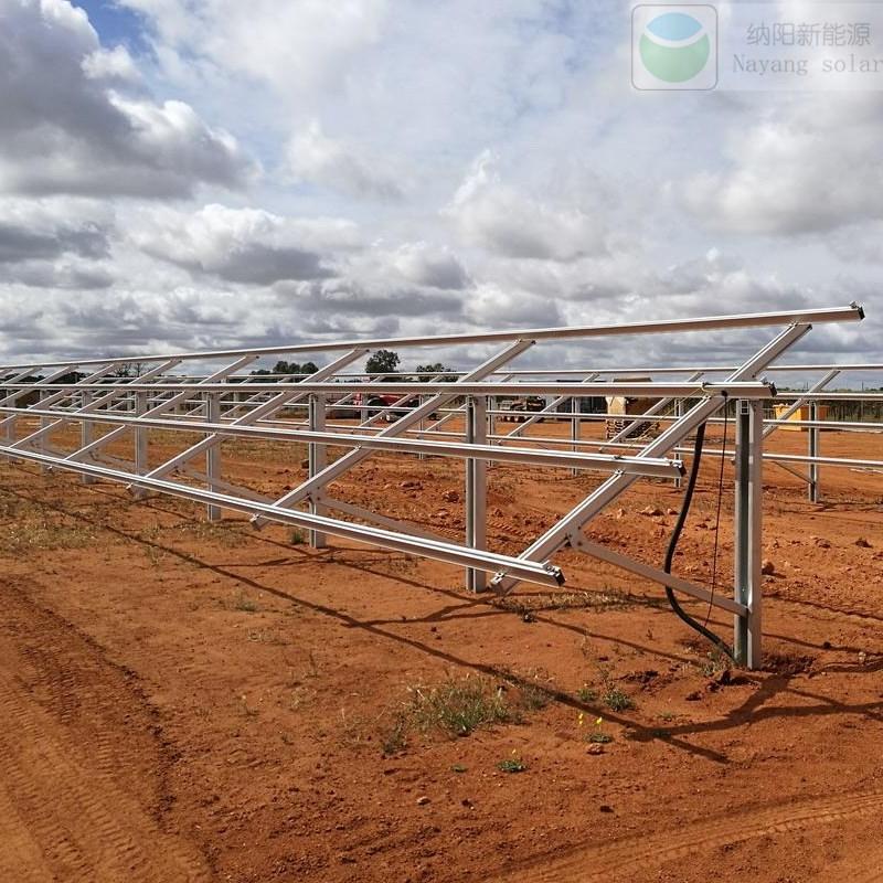 Qatar 3MW Solar PV Ground Mount Structure Project