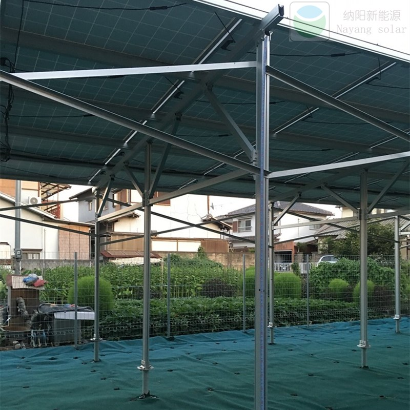 Japan 25kw Ground Mount Structure Project