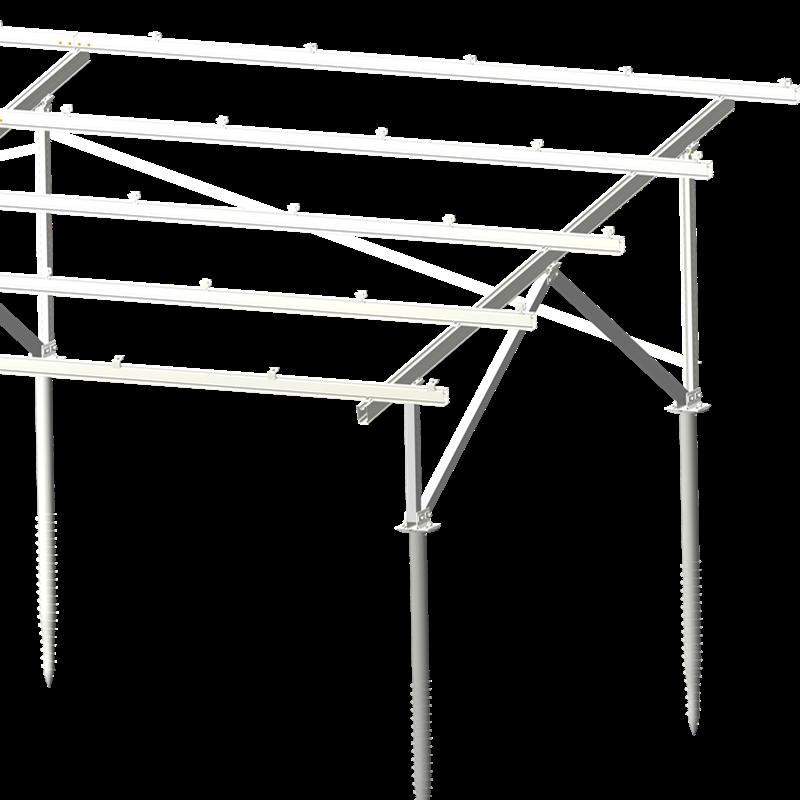 Ground Aluminum Mount PV Structure 4