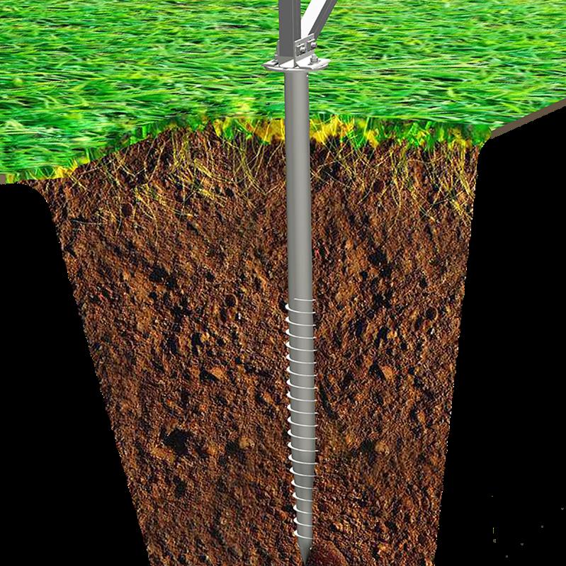 Ground Screws & Fence