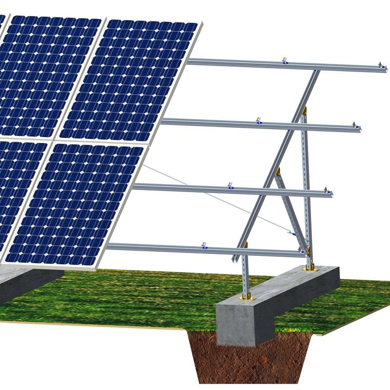 Ground Hot Dip Galvanizing PV mount System