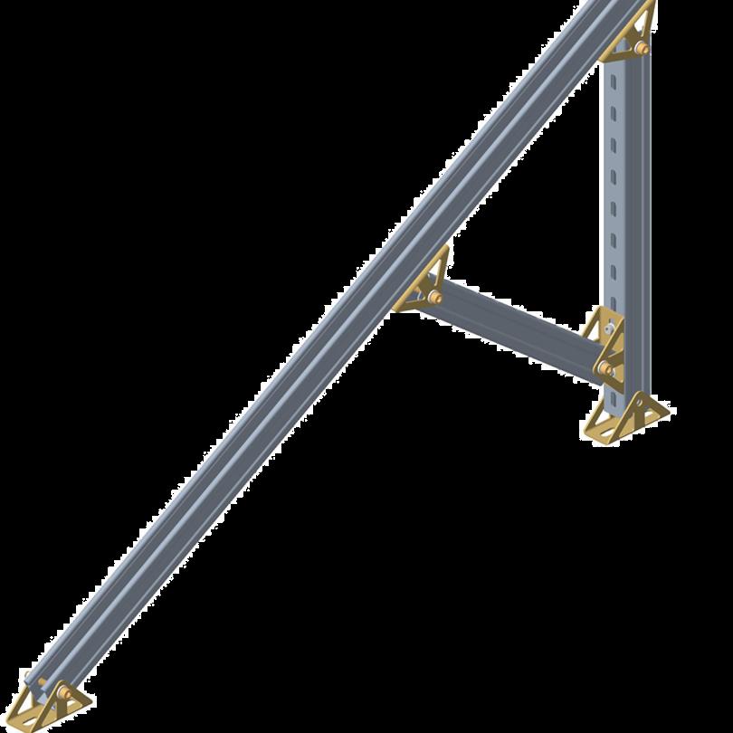 Ground Hot Dip Galvanizing PV mount System 4