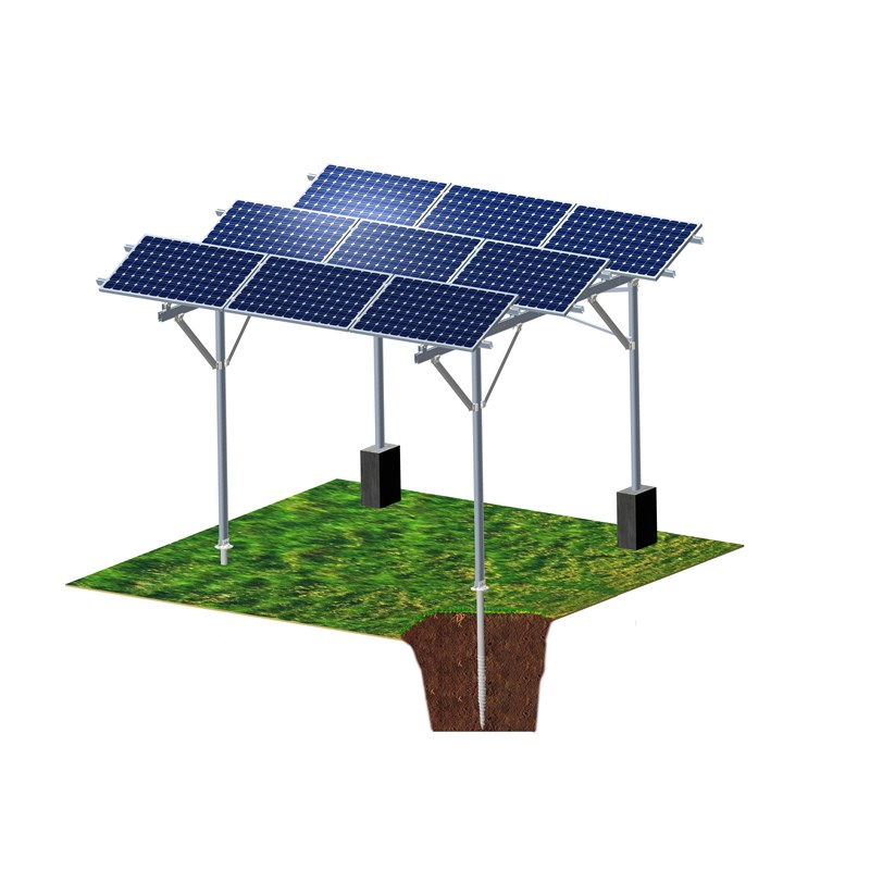 Solar PV Agricultural Greenhouse Mounting System