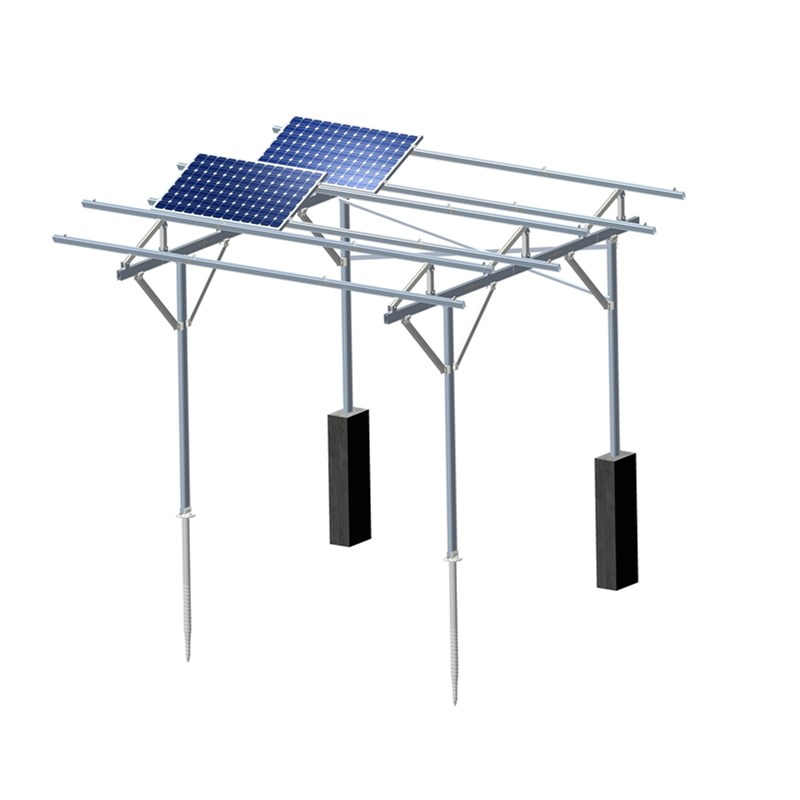 Solar PV Agricultural Greenhouse Mounting System 2