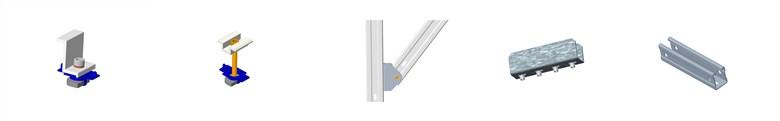 Ground Hot Dip Galvanizing PV mount System Hot Dip Galvanizing PV Mounting System 3