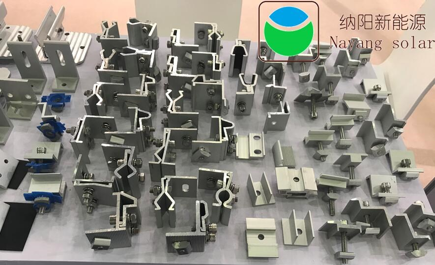 Fixture of metal roof(tin roof ) on solar mounting system Complementary Material Accessories 1